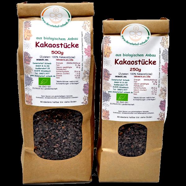 Bio Kakaostücke aus Edelkakao ungesüsst