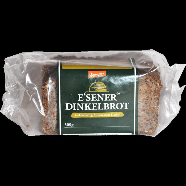 Demeter Bio Essener Brot aus gekeimten Dinkel