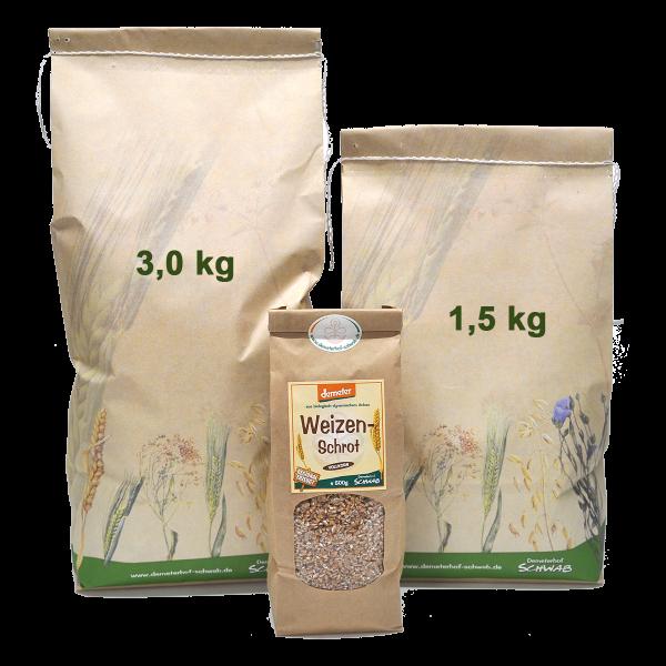 Demeter Bio Weizenvollkornschrot