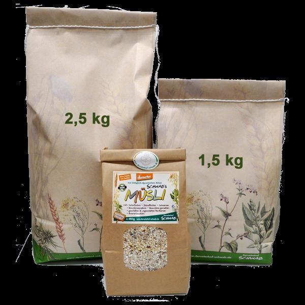 Demeter Bio Schwabs Müsli - ohne Zusatz von Zucker