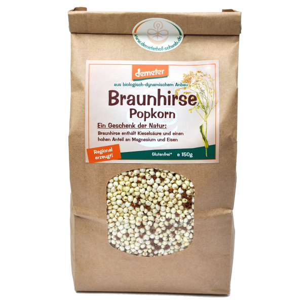 Demeter Bio Braunhirse Popkorn