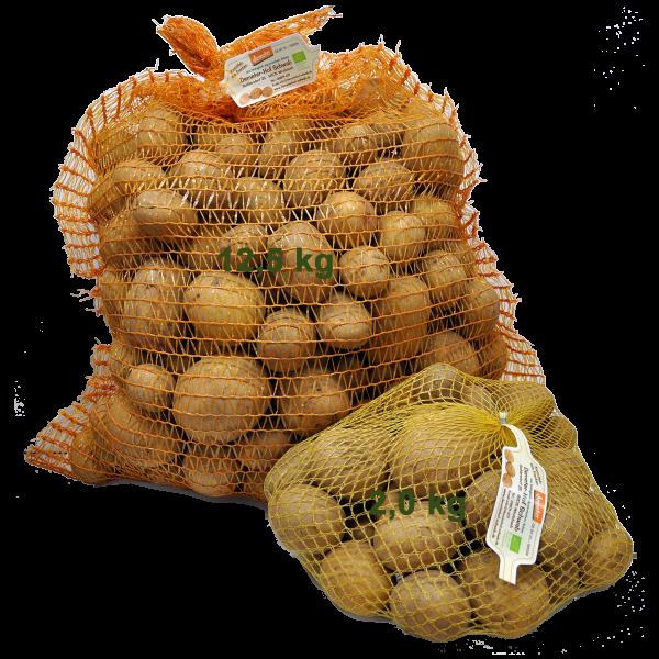 Demeter Bio vorwiegend fest kochend Sorte: Otolia/Cascada Speisekartoffeln