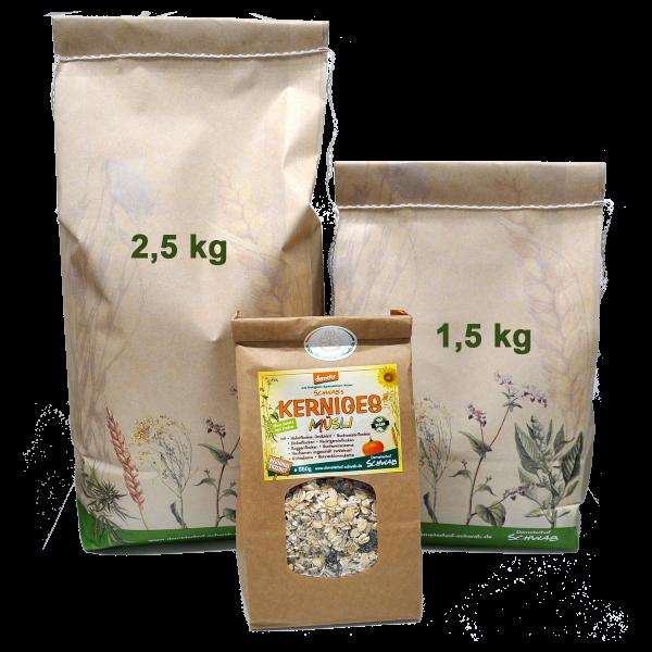 Demeter Bio Kerniges Müsli - ohne Zusatz von Zucker