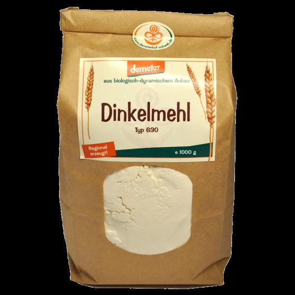 Demeter Bio Dinkelmehl Typ: 630