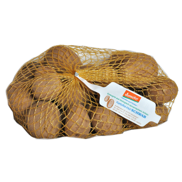 Demeter Bio Kartoffeln vorwiegend fest kochend - Sorte: Lilliana