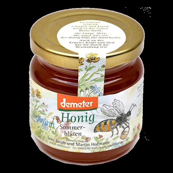 Demeter Bio Honig - Sommerblüten ungerührt