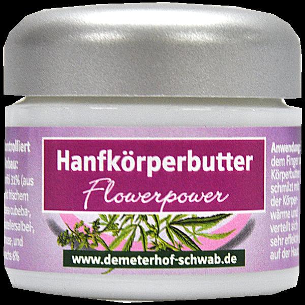Bio Hanfkörper(butter) Flowerpower 50ml
