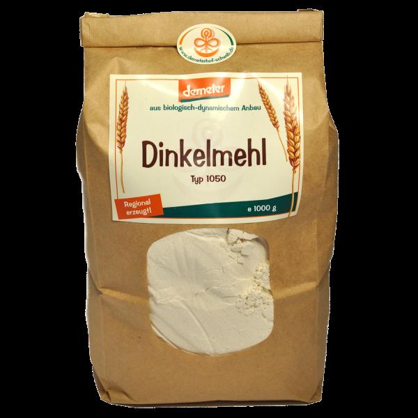 Demeter Bio Dinkelmehl Typ: 1050 Sorte: Oberkulmer Rotkorn