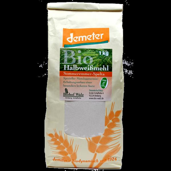 Demeter Bio Emmer Halbweißmehl (entspricht Typ: 1050)