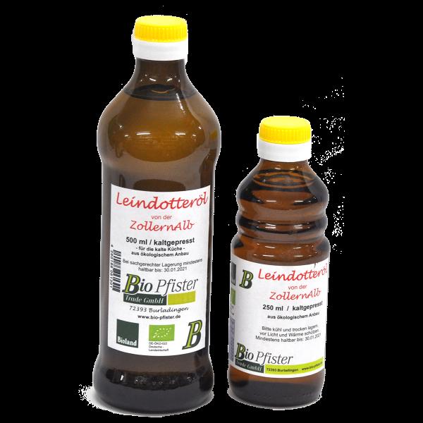 Reduziert Bioland Leindotteröl MHD 30.7.21