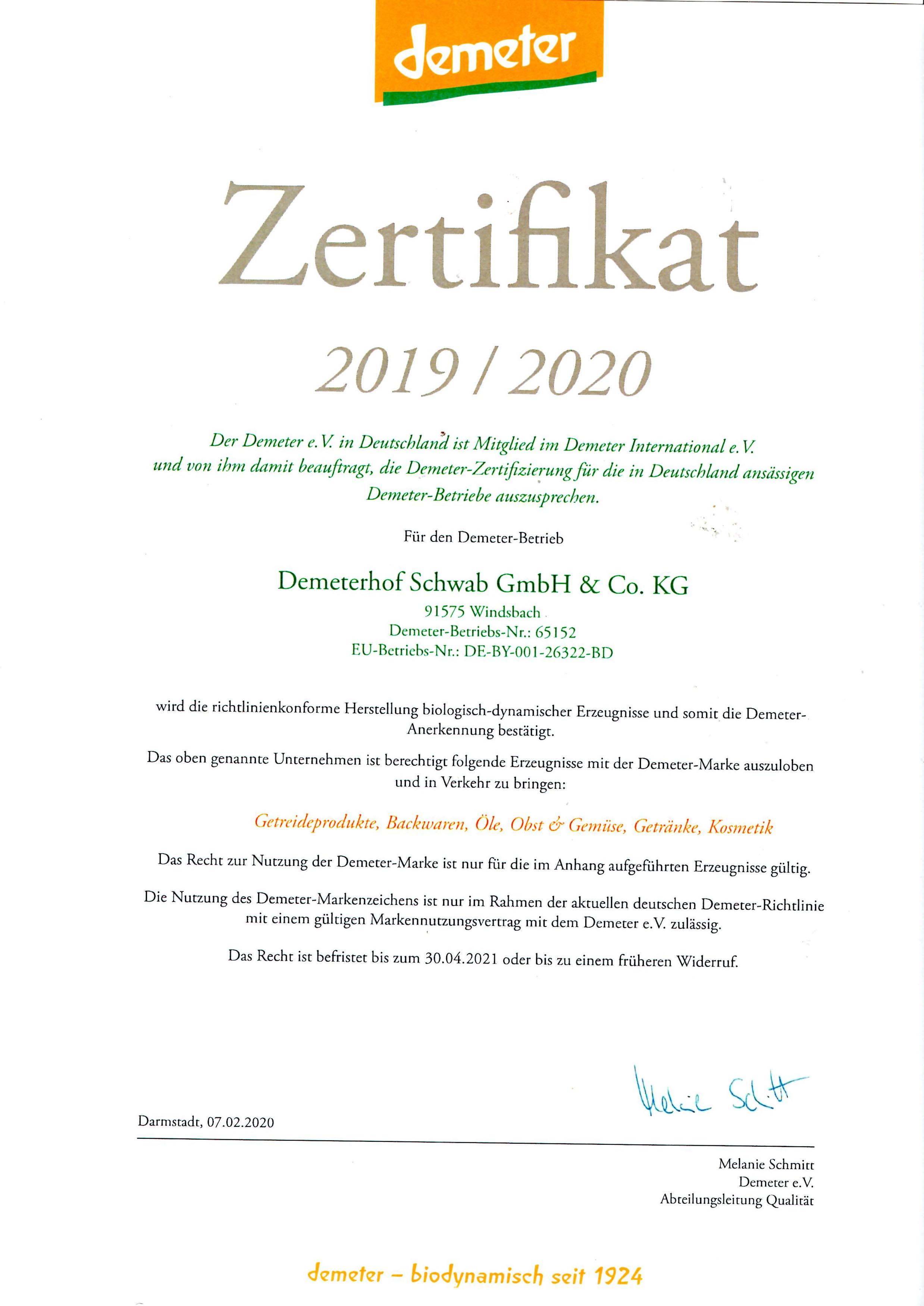 demeterhof_kg_zertifikat