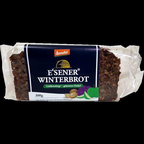 Demeter Bio E´sener Winterbrot aus gekeimten Dinkel mit Nüssen und Früchten
