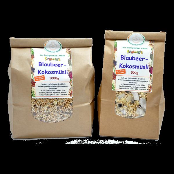 Bio Blaubeer-Kokos Müsli
