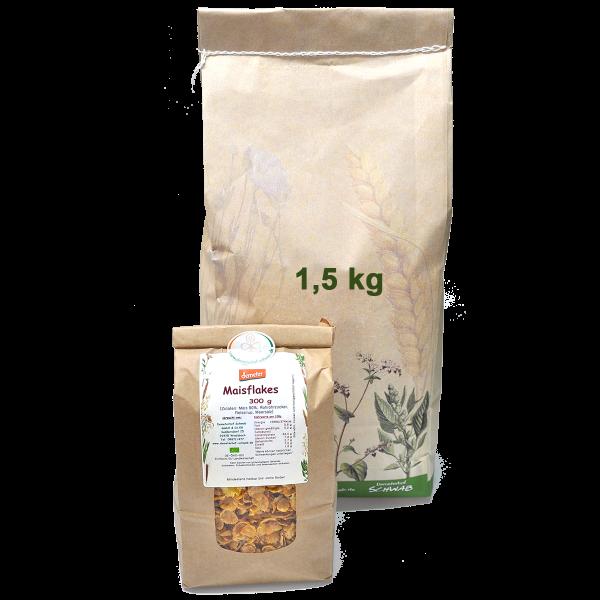 Demeter Bio Maisflakes leicht gesüßt