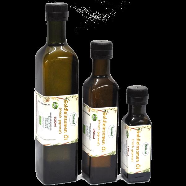 Bioland Goldleinsamenöl - frisch gepresst