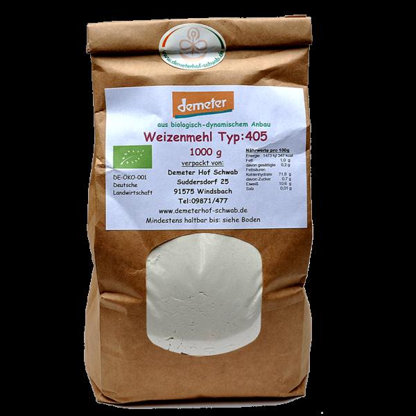 Demeter Bio Weizenmehl Typ:405