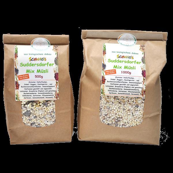 Bio Suddersdorfer Mix Müsli ohne Zusatz von Zucker